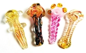 MIX 4'' GLASS HANDPIPES BN17A